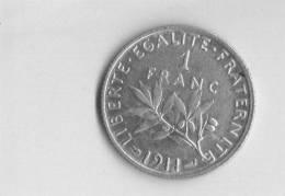 UN FRANC  SEMEUSE 1911  RARE .TTB  A SUP   .G 467 - France