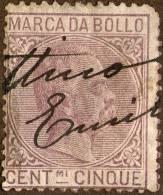 Italy, 5 C. - MARCA Da BOLLO Revenue,used As Scan - Steuermarken