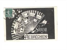 SOUVENIR DE  REBRECHIEN - (EVENTAIL MULTIVUES) - Francia