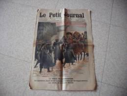Le Petit Journal 12 Fevrier 1911  La Peste En Mandchourie - Giornali