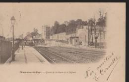 CPA/Charenton-le-Pont:Quais Gare Et Le Séjour:Précurseur - Charenton Le Pont