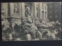 ROMA Fontana Di Trevi - Viaggiata Nel 1923 Formato Piccolo - Fontana Di Trevi