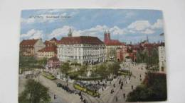 AK München Sendlinger Torplatz Vom  22.3.23 Stempel: Berchtesgaden - München