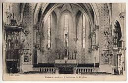 CPA 11 THEZAN - L Interieur De L Eglise - Francia