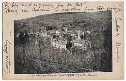 CPA 11 CUXAC CABARDES - Vue Generale - Francia