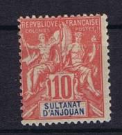 Anjouan: Yv Nr 14 MH/*, - Unused Stamps