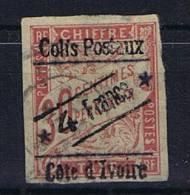 Cote D´Ivoire, Yv.nr.Colis Postaux 10 Used Obl - Costa D'Avorio (1892-1944)