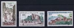 Cote D´Ivoire, Yv.nr 240 MNH/** + 241-242 MH/* - Ivoorkust (1892-1944)