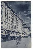 AMERICA ARGENTINA BUENOS AIRES THE ROQUE SAENZ PENA AVENUE Nr. 24 FOLDED OLD POSTCARD 1929. - Argentina