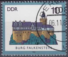 DDR Plattenfehler Mi.2910 F4 Michel Spezial Gestempeld - [6] Oost-Duitsland
