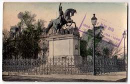 AMERICA ARGENTINA BUENOS AIRES THE SAN MARTIN STATUE OLD POSTCARD 1910. - Argentina