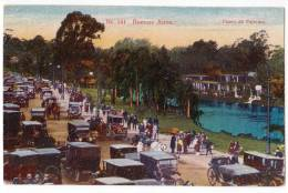 AMERICA ARGENTINA BUENOS AIRES WALK OF PALERMO Nr. 141 OLD POSTCARD - Argentina