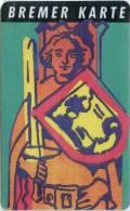 Bremer Karte - Tramticket,Straßenbahnfah Rkarte - Roland - Andere Sammlungen
