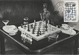 Jeu D´échecs - Carte Maximum - Chess