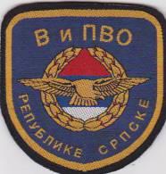 SERBIA, BOSNIA, REPUBLIKA SRPSKA  --  V I PVO  --  AIR FORCE AND AIR DEFENSE - Patches
