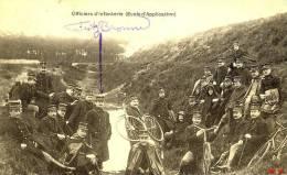 ARMEE BELGE / OFFICIERS D'INFANTERIE - Regiments
