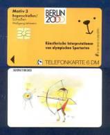 "GERMANY: O-241 09/92 BERLIN 2000 ""Bogenschieven"" Motive 3. Unused - Germania"