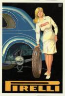 Automobile Gomme Pirelli Brovarone 1132 Pneumatici Tires Pneus - Cartoline