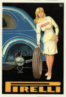 Automobile Gomme Pirelli Brovarone 1132 Pneumatici Tires Pneus - Cartes Postales