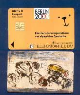 "GERMANY: O-345 11/92 BERLIN 2000 ""Radsport"" Motive 8. Unused - Germania"