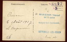 Cpa Du 22  Dinan Cachet Chiffré !!! La Statue De Bertrand Du Guesclin  Par Fremiet      SAB7 - Cartes Postales