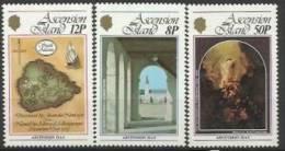 ASC 1979-241-2 CHRISTI, ASCENSION, 1 X 3v, MNH - Ascension (Ile De L')