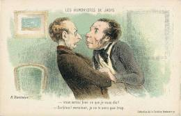 "H. DAUMIER "" LES HUMORISTES DE JADIS "" ILLUSTRATEUR HUMOUR - Non Classificati"