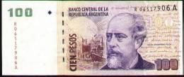 ARGENTINA 2005 - REPLACEMENT NOTE Of 100 PESOS JULIO A. ROCA