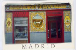 "Espagne--MADRID--Taberna Tipica--""LA  ZAMORANA"" (cervezas,vinos,cucina Vasca,retaurante)-Belle Devanture De Restaurant - Madrid"