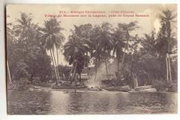 D10215 - Côte D' Ivoire - Village De Mousson Sur La Lagune, Près De Grand Bassam - Côte-d'Ivoire