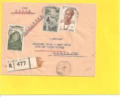 Lettre Avec N° 34 37 42 De DAKAR SENEGAL AOF