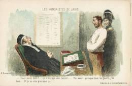 """H. DAUMIER """" LES HUMORISTES DE JADIS """" ILLUSTRATEUR HUMOUR JUGE PROCUREUR JUSTICE POLICIER VOLEUR - Illustrateurs & Photographes"""