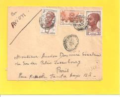 Lettre Avec N° 43 41 33 De BAMAKO SOUDAN AOF