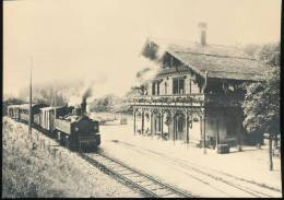 Train  --- Train Pour Ste - Croix A Six - Fontaines --- Vers 1915 - Trains