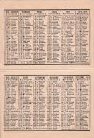 Calendrier 1953 - Calendriers