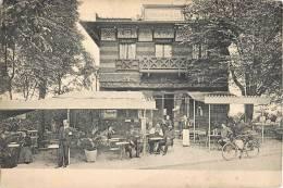 """PARIS LE PAVILLON DU LAC ANIMEE CAFE ARCHITECTURE CHINOISE """" CARTE SANS LEGENDE """"75014 - Distrito: 14"""