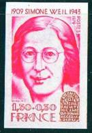 1979   Simone Weil    Yv 2032A      ** Sans Charnière - Francia