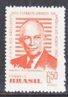 Brazil  C 92  *  EISENHOWER - Airmail