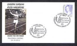 6.- ITALY ITALIA 2012. SPECIAL POSTMARK. GIUSEPPE DORDONI. GOLD MEDAL OLYMPIC AND PARALYMPIC GAMES HELSINKI 1952 - Zomer 1952: Helsinki