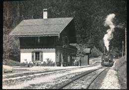 Train  --- Gare De Six - Fontaines Dans Les Annees 20 - Trains