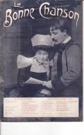 Théodore Botrel Bretagne La Bonne Chanson Partition N°21 Juillet 1909 - Partitions Musicales Anciennes