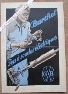 """Brochure """"Fers à Souder """"Barthel"""" - Vieux Papiers"""