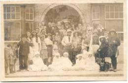 DE PANNE-FOTO-PENSION MARIE JOSE-ZELDZAME-FOTOKAART-1925-NIET VERZONDEN - De Panne