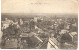 BERTRIX-PANORAMA-CARTE ENVOYEE 1921-EDIT. HENRI GEORGES-BRUXELLES - Bertrix