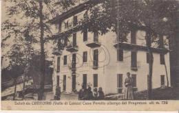 Torino - Saluti Da Cantoira (Valle Lanzo) Casa Perotto Albergo Del Progresso M. 738 - Italia