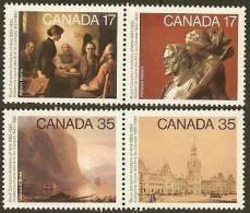 CANADA 1980  MNH Stamp(s) Canadian Art 760-763  #5717 - 1952-.... Reign Of Elizabeth II