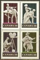 CANADA 1989 MNH Stamp(s) Art &amusement 1149-1152 #5860 - Unused Stamps