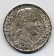 LETONIA 5 LATI 1931 - Lettonie