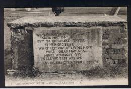 RB 907 - Early LL L.L. Postcard - Old Tomb In Churchyard - Christchurch Proiry - Dorset - Ex Hampshire - Bournemouth (until 1972)