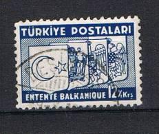 TURKIJE  TIMBRE ENTENTE BALKANIQUE  1937 - 1921-... République